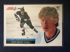 "WAYNE GRETZKY (""The Franchise"")  1991-92 Score #422  Pack Fresh  NM/MT+"