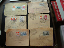 FRANCE - 6 devants d enveloppes  (cy73) french