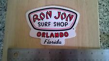 RON Jon Surf Shop Adesivo, NUOVO, PERFETTO PER FURGONE O Board