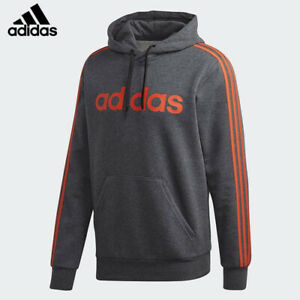 Men's Adidas 3 Stripe Hoody (FM6051)