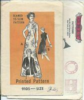 PP 9105 sewing pattern 70's DRESS & JACKET sew UNCUT size 12 mail order envelope
