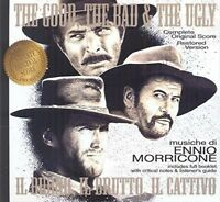 OST/THE GOOD THE BAD & THE UGLY 2 CD NEW! MORRICONE,ENNIO