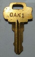 Original Oak Acorn or Vista  Vending Key for Peanut Gum ball Vending Machines