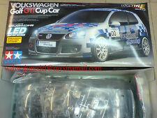 Tamiya 58410 1/10 RC Volkswagen Golf GTI Cup Car - TT01E