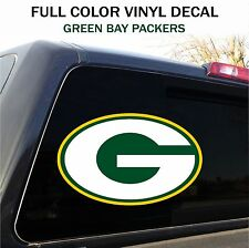 """Green Bay Packers Window Decal Graphic Sticker Car Truck SUV - 12"""" wide"""