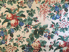 Western Textile richly colored damask floral home decorator fabric in multi