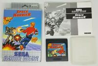 Space Harrier For The Sega Game Gear Boxed & Complete PAL UK