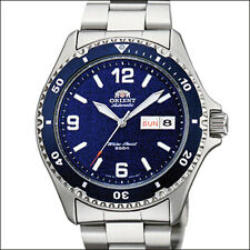 Orient Blue Mako II Automatic, Hand Wind, Hacks, Dive Watch #AA02002D, FAA02002D