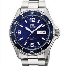 Orient Blue Mako II Automatic, Hand Wind, Hacks, Dive Watch #AA02002D, FAA02002D