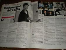 L'Espresso.Alessandro Gassman,George Clooney,Bigas Luna,Fidel Castro,jjj