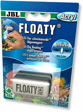 Jbl Floaty Mini Flotante algas Imán Limpiador Para Vidrio Y Acrílico Nano Acuarios