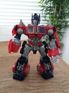 Transformers Talking Noise Making Light Up Optimus Prime Hasbro 2006 29cm