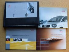 GENUINE AUDI A2 HANDBOOK OWNERS MANUAL WALLET 1999-2005 PACK K-213