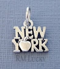 "Charm Pendant Tag ""New York"" Fits wire Charm Bracelet/Necklace C226"
