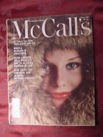 McCall's January 1963 PETER LAWFORD MAURICE CHEVALIER +