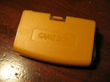 For Gameboy Advance Yellow Replacement Battery Cover GBA Cover Brand New