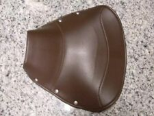 Vespa solo driver seat saddle Brown COVER VBA VBB VNA VNB V8045