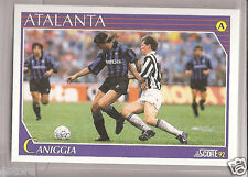 Rare '91 Argentina Legendary Player Claudio Paul Caniggia with Atalanta - Italy