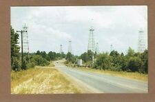 "TX Texas, Oil Wells, Typical East Texas ""Black Gold Field"" used Dallas 1959"