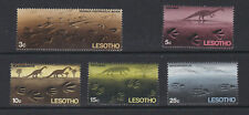 LESOTHO 1970 PREHISTORIC FOOTPRINTS SET 1ST.SERIES
