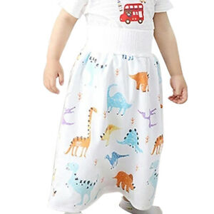 2 in 1 Comfy Children's Diaper Skirt Shorts Waterproof and Absorbent Shorts Baby