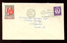 ADVERTISING ENVELOPE 1963 UNITED DAIRIES + WILDING PERFIN ACTON