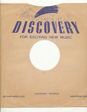 78 RPM Company logo sleeves-POST-WAR-DISCOVERY