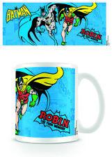 Nuevo Taza Oficial Comic Batman Y Robin Dc Héroes de cerámica drinkware En Caja
