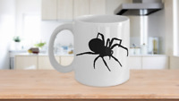 Spider Mug Coffee Cup Funny Gift for Creepy Halloween Sense Arachnology Man
