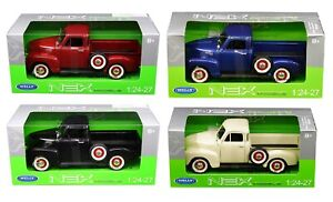 1/24 - 1/27 Welly 1953 Chevrolet 3100 PickUp Truck Model Different Colors 22087