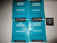 2001 PLYMOUTH PROWLER SERVICE SHOP REPAIR MANUAL SET