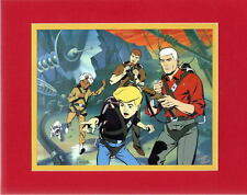JONNY QUEST GANG PRINT PROFESSIONALLY MATTED Hanna Barbera