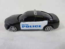 Maistro Diecast 2006 Dodge Charger Police Cruiser 1:64 Black White #6691