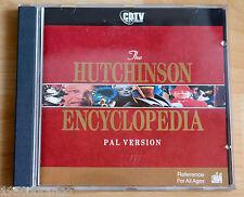 CDTV CD/amiga/Commodore: the Hutchinson enciclopedia/PAL Versión! top