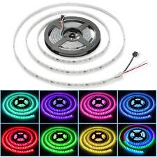 5m LED RGB Lauflicht Strip 5050 Streifen IC wasserdicht Band Leiste Komplettset