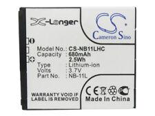 NB-11L  NB-11LH Battery for  Canon IXUS 125HS  IXUS 240HS  PowerShot A2300   NEW
