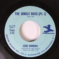 Soul 45 Gene Ammons - The Jungle Boss (Pt. 1) / The Jungle Boss (Pt. 2) On Prest
