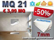 MQ21 di CLIMAPRON 7mm pannelli PS ESPANSO LASTRE ISO termico acustico e umidità