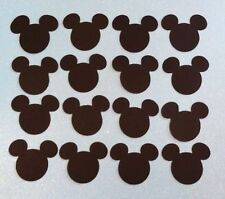 """Mickey Mouse EARS HEAD LOT 12 DIE CUT PARTY DECORATIONS, INVITATIONS & MORE 6"""""""