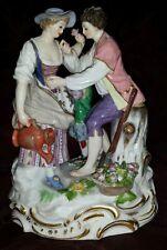 Meissen Porcelain Figural Group B28, Gardeners
