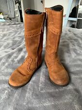 Clarks Girls Brown Boots Size 8.5G