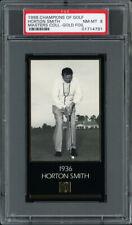 1997-98 GRAND SLAM VENTURES GOLF MASTERS GOLD FOIL #NN HORTON SMITH (1936) PSA 8