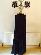 Monsoon New Wedding/prom/bridesmaid/ball Gown/formal Emblished Emdrioderd Dress8