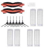 15PCS Side Brush Filter Kit For Xiaomi STYJ02YM Vacuum Cleaner Spare Part