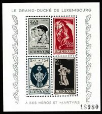 Luxembourg 1945 National War Victims Fund - MNH Mini Sheet - Cat £44 - (79)