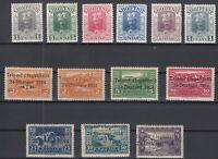 AV5523/ ALBANIA – 1914 / 1925 MINT MH SEMI MODERN LOT – CV 150 $