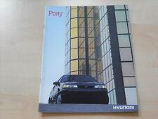 54186) Hyundai Pony Prospekt 199?