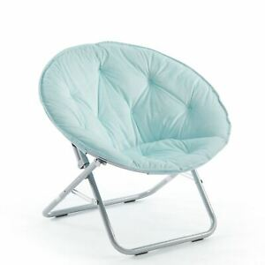 Urban Shop Kids Micromink Saucer Chair, Available in Multiple Colors