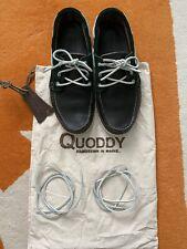 Quoddy Boat Moc Dark Green Size 8