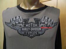 Harley-Davidson Langarm Shirt Herren grau 1903 B&S Maß beachten zw. S und M SALE